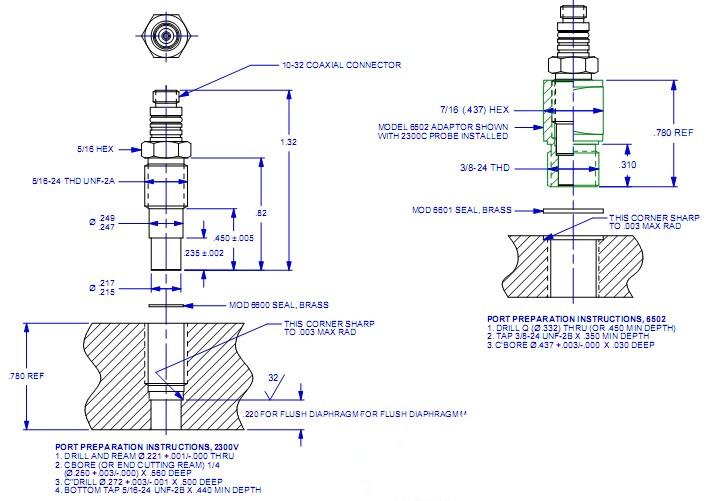 美国dytran 2300c3压力传感器